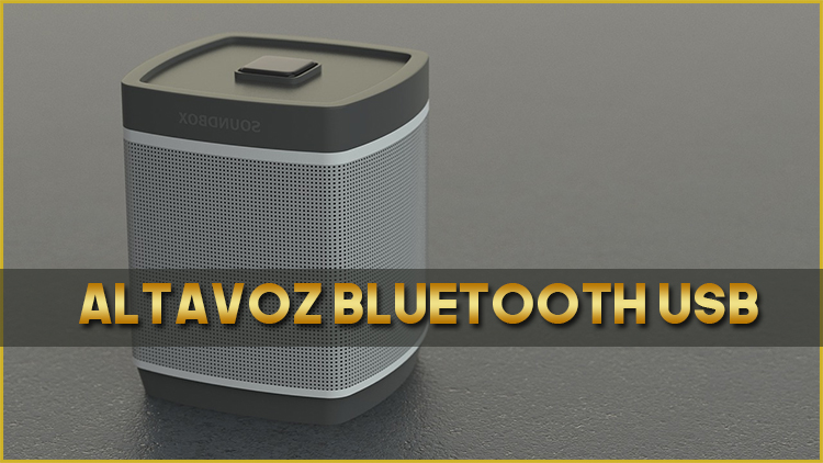 Altavoz Bluetooth USB
